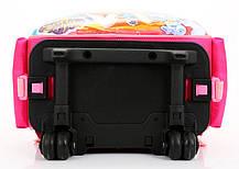 Шикарные школьный рюкзак на колесах с принтом белоснежки, принцессы Софии , фото 3