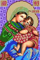 Схема для вышивки бисером «Пресвятая Богородица Отчаянных единая надежда»