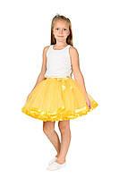 Фатиновая юбка - желтая