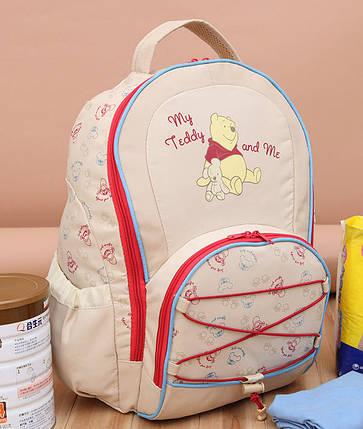 Стильный рюкзак для путешествий Винни Пух с ковриком, фото 2
