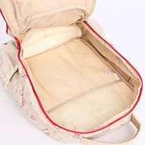 Стильний рюкзак для подорожей Вінні Пух з килимком, фото 3