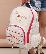 Стильний рюкзак для подорожей Вінні Пух з килимком, фото 2