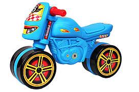 Дитячий мотоцикл для катання Технок Міні Байк 4098 блакитний