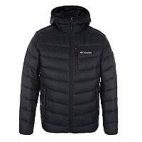 a94bcbb3a6f8 Мужская пуховая куртка Columbia HELLFIRE 650 TURBODOWN™ HOODED JACKET  черная 1780721-010