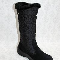Зимние термо сапожки Сапожки из натуральной замши детская обувь Floti