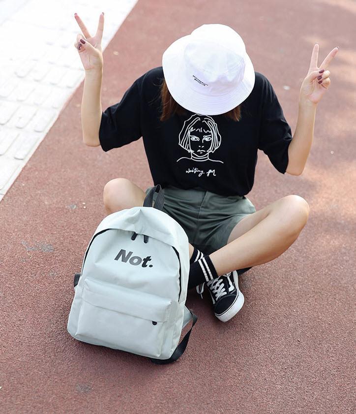 Классический тканевый рюкзак Yes Not