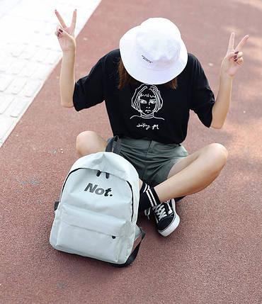 Классический тканевый рюкзак Yes Not, фото 2