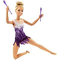 Кукла Barbie Made to Move Двигайся как Я Гимнастка (FJB18)