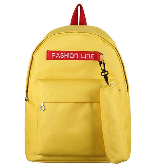 Модный тканевый рюкзак Fashion line с пеналом