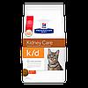Корм Хилс к/дHills Diet Feline k/d для кошек при заболеваниях сердца МКБ ХПН 1.5 кг
