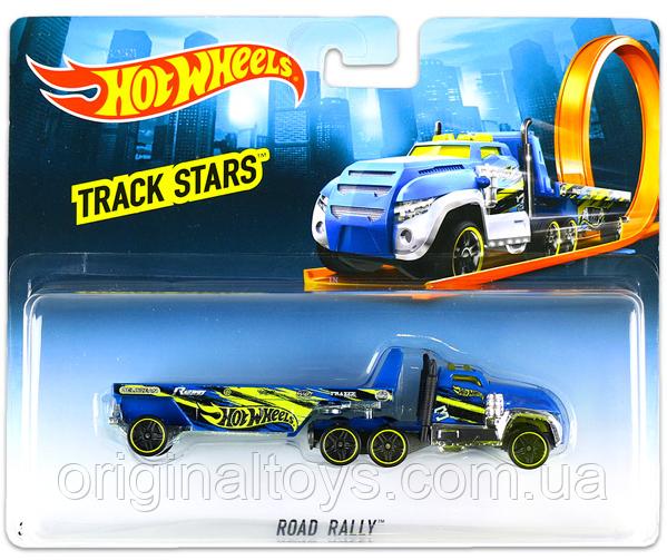Вантажівка-трейлер Hot Wheels Road Rally BFM60
