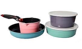 Набор посуды 7 пр Hilton FP-2452