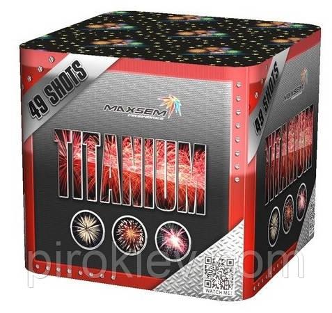 Салютная установка TITANIUM (RED) SB 49-01