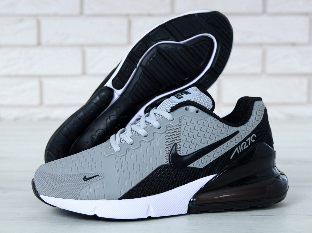e4782188 Кроссовки мужские Nike Air Max Flair 270 KPU Grey, цена 1 786,66 грн.,  купить в Киеве — Prom.ua (ID#586226078)