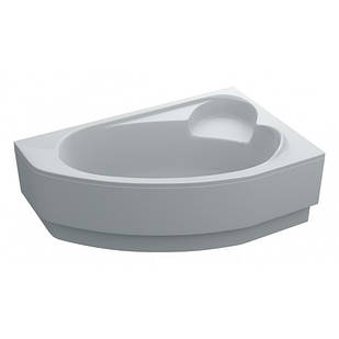 Ванна LEONI права 170Х110 акрилова асиметрична з панеллю Swan