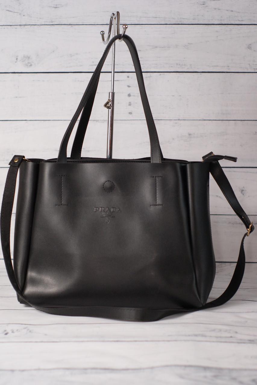 2bbeb360b5fd Женская сумка-шоппер Prada (Прада), черный цвет: продажа, цена в ...