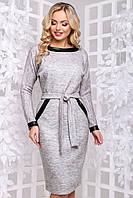 Дуже тепле і красиве плаття з щільної ангори летюча мишь 44-52 розміру меланж, фото 1