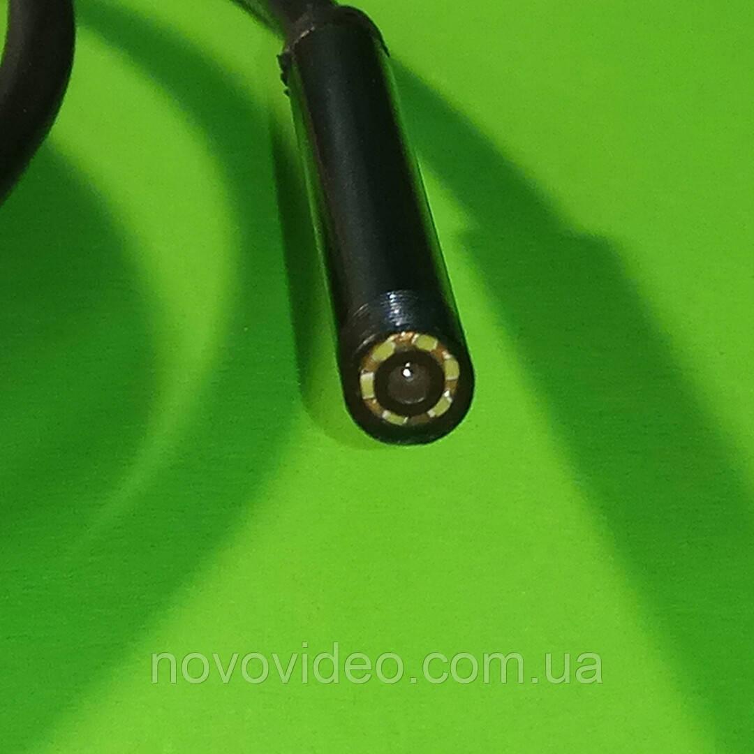 Камера эндоскоп гибкая с подсветкой с кабелем 3,5 метра