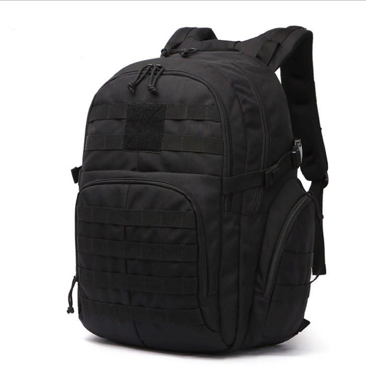 Рюкзак тактичний рейдовий 35-40 л колір чорний (рт12)