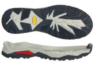Подошва для обуви Мувер-2 ТР (MOVER-2 TR), цв. синий + серый