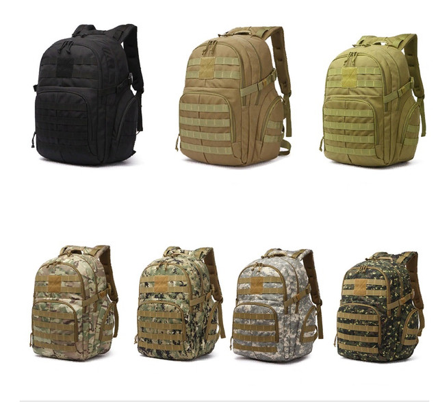 купити рюкзак тактичний рейдовий армійський військовий полювання риболовля відпочинок природа 30-35 л чорний