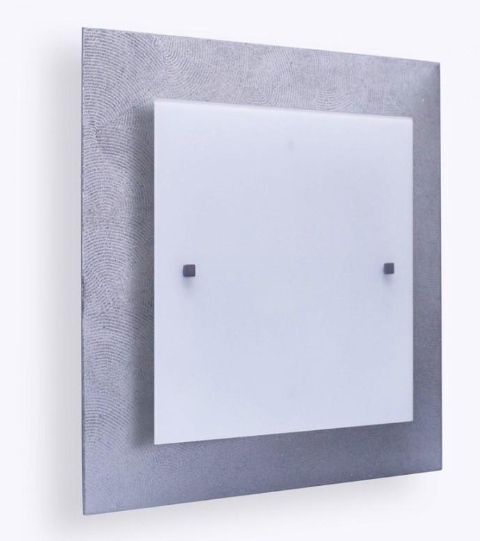 """Светильник 40140 """"Міраж"""" НББ 2х60 Вт, Е27, 400мм серебро"""