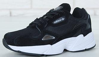 Кроссовки Женские Adidas Falcon, Адидас Фалькон черные