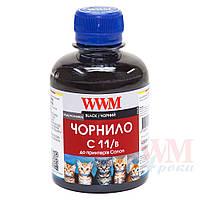 Чернила WWM Canon CLI-426Bk/521Bk, Black, 200 г (C11/B)