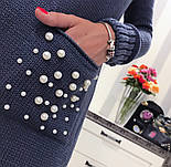 Женское прямое платье с карманами (3 цвета), фото 8