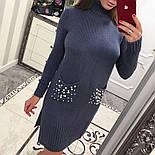 Женское прямое платье с карманами (3 цвета), фото 10