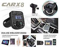 FM-фм модулятор. Car x8.Фм трансмиттер Bluetooth 2 usb + громкая связь