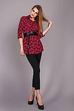 Bellise Блуза-рубашка из штапеля 1113