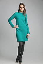 Красивое женское весенне трикотажное платье размер 42