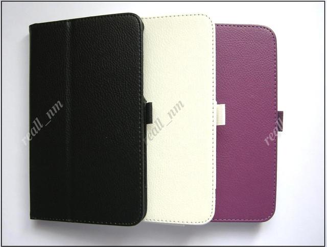 купить кожаный чехол-книжка Asus Memo Pad 7 Me170C