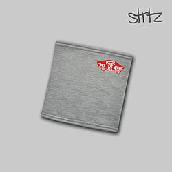 Теплый горловик Vans серого цвета  (люкс копия)
