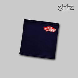 Теплый горловик Vans синего цвета  (люкс копия)
