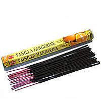 Благовония Vanilla Tangerine HEM 20шт/уп. Аромапалочки Ваниль, мандарин (28629K)