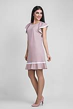 Красивое трикотажное платье 1329 Bellise
