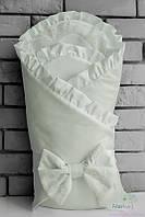 Молочный конверт одеяло для новорожденного, зимний