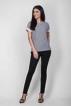 Молодежная летняя красивая блуза размер 42