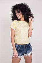 Молодежная летняя ярка блуза размер 44-46