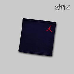Теплый горловик Jordan синего цвета  (люкс копия)