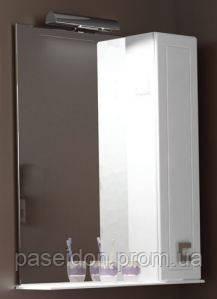 Зеркало с пеналом Аква Родос Мобис 65 (R)
