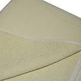 Полотенце для сауны 100*180, вафельное/махра, бежевый, фото 2