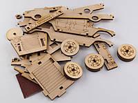 Деревянный 3Д конструктор Джип Хаммер 42 детали (286235)
