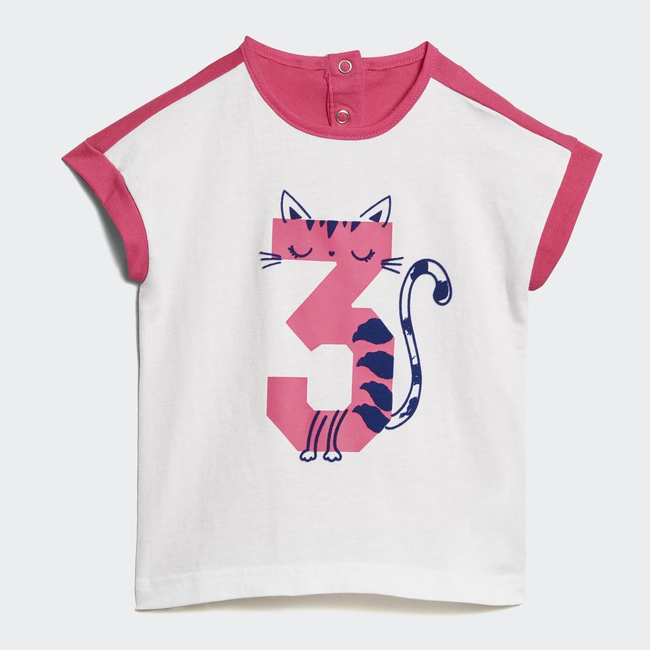 Детский костюм Adidas Performance Summer (Артикул  DJ1543) - Интернет- магазин «Эксперт 97eb6bed9a7