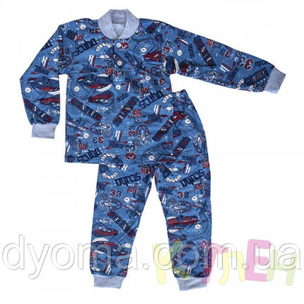"""Детская теплая пижама """"Планка"""" , фото 2"""