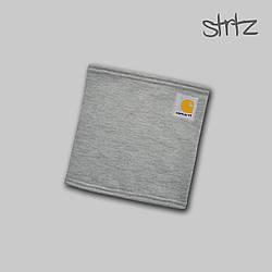 Теплый горловик Carhartt серого цвета  (люкс копия)