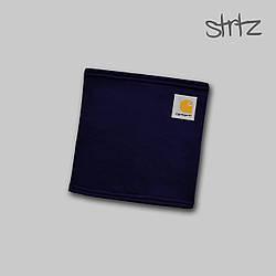 Теплый горловик Carhartt синего цвета  (люкс копия)