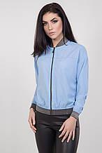 Трикотажная женская куртка-бомбер 42-46